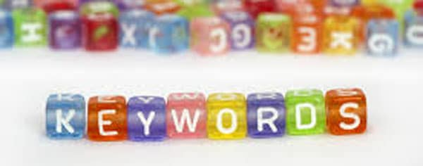 E-commerce scelta keywords