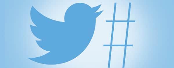 hashtag su twitter