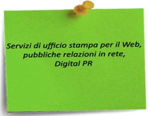servizio ufficio stampa web