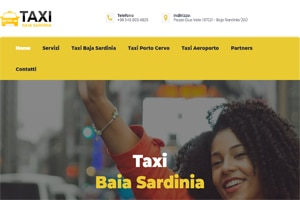 taxi baja sardinia